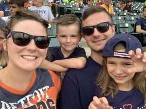 Andrew attended Detroit Tigers vs. Chicago White Sox - MLB on Aug 7th 2019 via VetTix