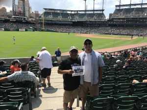 Daniel attended Detroit Tigers vs. Chicago White Sox - MLB on Aug 7th 2019 via VetTix