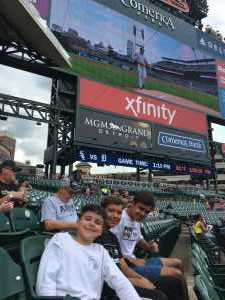 Patrick attended Detroit Tigers vs. Chicago White Sox - MLB on Aug 7th 2019 via VetTix