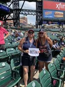 MSgt USAF Retired attended Detroit Tigers vs. Chicago White Sox - MLB on Aug 7th 2019 via VetTix