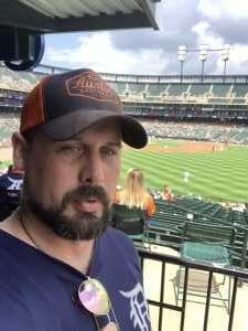 Scott attended Detroit Tigers vs. Chicago White Sox - MLB on Aug 7th 2019 via VetTix
