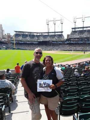 Andrea attended Detroit Tigers vs. Chicago White Sox - MLB on Aug 7th 2019 via VetTix