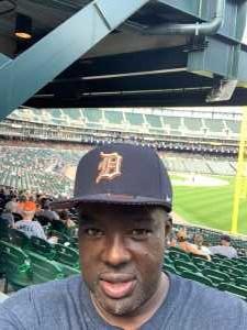Lucien attended Detroit Tigers vs. Chicago White Sox - MLB on Aug 7th 2019 via VetTix