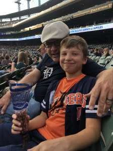 Thomas attended Detroit Tigers vs. Seattle Mariners - MLB on Aug 13th 2019 via VetTix