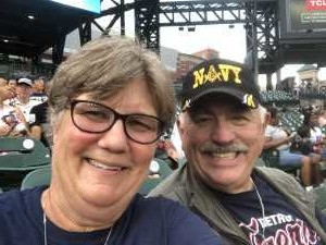 Sue attended Detroit Tigers vs. Seattle Mariners - MLB on Aug 13th 2019 via VetTix