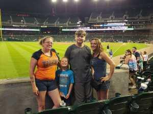 Ashley attended Detroit Tigers vs. Seattle Mariners - MLB on Aug 13th 2019 via VetTix