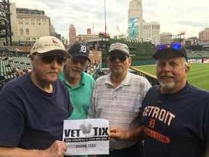Richard attended Detroit Tigers vs. Seattle Mariners - MLB on Aug 13th 2019 via VetTix