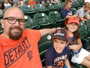 Eric attended Detroit Tigers vs. Seattle Mariners - MLB on Aug 13th 2019 via VetTix