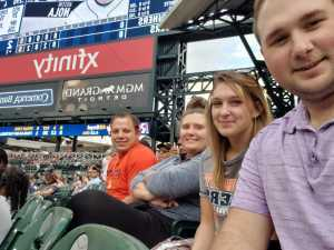Tyler attended Detroit Tigers vs. Seattle Mariners - MLB on Aug 13th 2019 via VetTix