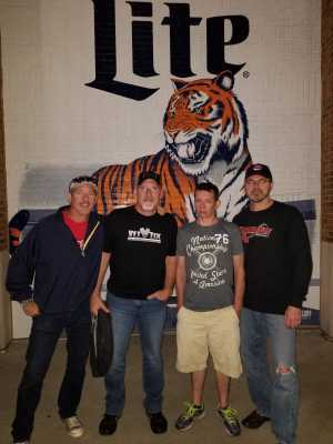 Greg attended Detroit Tigers vs. Cleveland Indians - MLB on Aug 28th 2019 via VetTix