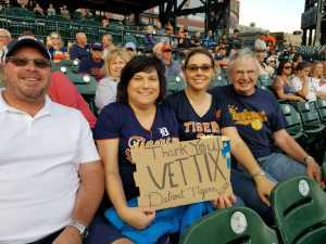 Dawn attended Detroit Tigers vs. Cleveland Indians - MLB on Aug 28th 2019 via VetTix