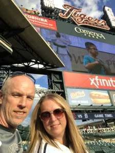Jeffrey attended Detroit Tigers vs. Cleveland Indians - MLB on Aug 28th 2019 via VetTix