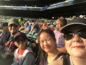 L attended Detroit Tigers vs. Cleveland Indians - MLB on Aug 28th 2019 via VetTix