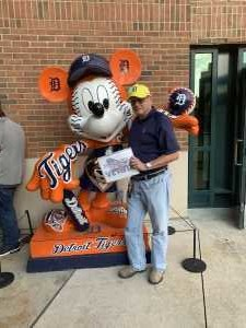 Gerard attended Detroit Tigers vs. Cleveland Indians - MLB on Aug 28th 2019 via VetTix