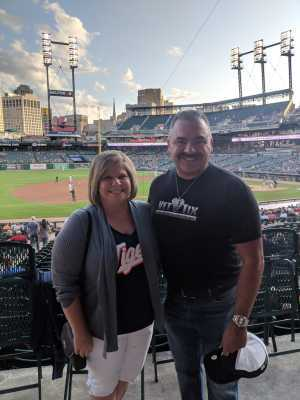 Raymond attended Detroit Tigers vs. Cleveland Indians - MLB on Aug 28th 2019 via VetTix