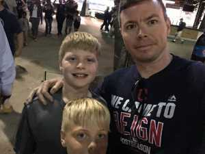 Justin attended Detroit Tigers vs. Cleveland Indians - MLB on Aug 28th 2019 via VetTix