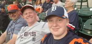 Wesley attended Detroit Tigers vs. Cleveland Indians - MLB on Aug 28th 2019 via VetTix