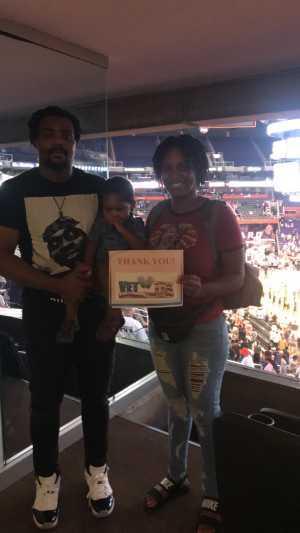 Click To Read More Feedback from Phoenix Mercury vs. Washington Mystics - WNBA - Suite Level Seating