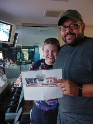 Michael attended Phoenix Mercury vs. Dallas Wings - WNBA - Suite Level Seating on Aug 10th 2019 via VetTix