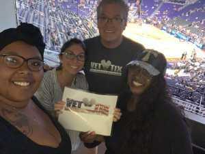 David attended Phoenix Mercury vs. Dallas Wings - WNBA - Suite Level Seating on Aug 10th 2019 via VetTix
