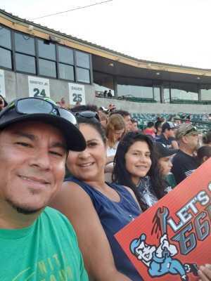 Miguel attended Inland Empire 66ers vs Visalia Rawhide - MiLB on Aug 1st 2019 via VetTix