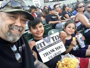 Ruben attended Inland Empire 66ers vs Visalia Rawhide - MiLB on Aug 1st 2019 via VetTix