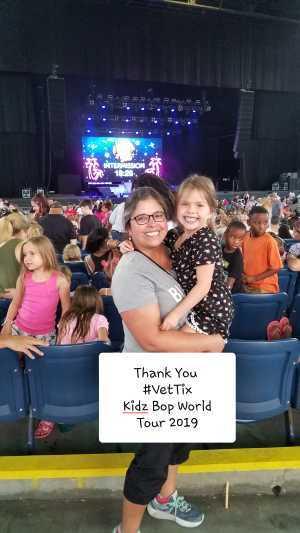 Maribel attended Kidz Bop World Tour 2019 - Children's Theatre on Aug 9th 2019 via VetTix