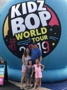 christopher attended Kidz Bop World Tour 2019 - Children's Theatre on Aug 9th 2019 via VetTix