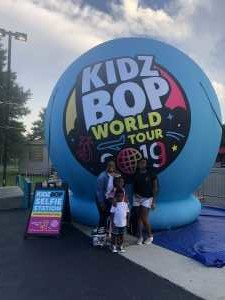 Jerome attended Kidz Bop World Tour 2019 - Children's Theatre on Aug 9th 2019 via VetTix
