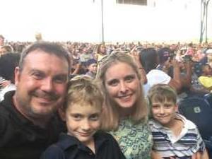 Brooks attended Kidz Bop World Tour 2019 - Children's Theatre on Aug 9th 2019 via VetTix