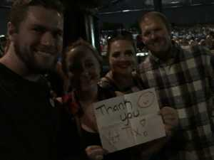 Conlin attended Brad Paisley Tour 2019 - Country on Aug 3rd 2019 via VetTix
