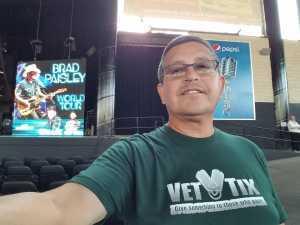 Gerardo R. attended Brad Paisley Tour 2019 - Country on Aug 3rd 2019 via VetTix