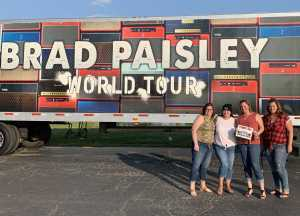 Jeremy attended Brad Paisley Tour 2019 - Country on Aug 3rd 2019 via VetTix