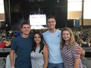 Thomas attended Brad Paisley Tour 2019 - Country on Aug 3rd 2019 via VetTix
