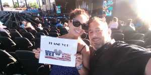 Mayra attended Brad Paisley Tour 2019 - Country on Aug 3rd 2019 via VetTix