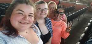 Jillian Hinton attended Brad Paisley Tour 2019 - Country on Aug 3rd 2019 via VetTix