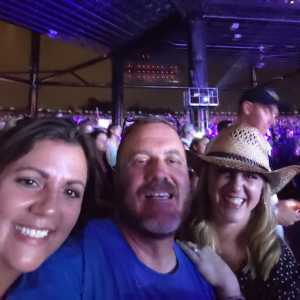 Curtis attended Brad Paisley Tour 2019 - Country on Aug 3rd 2019 via VetTix