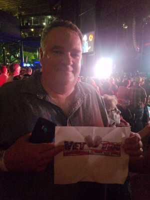 Todd attended Brad Paisley Tour 2019 - Country on Aug 3rd 2019 via VetTix