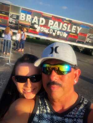 Eddie attended Brad Paisley Tour 2019 - Country on Aug 3rd 2019 via VetTix