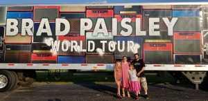 Randall attended Brad Paisley Tour 2019 - Country on Aug 3rd 2019 via VetTix
