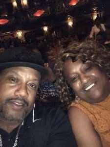 Stanley attended Kirk Franklin: the Long Live Love Tour - Gospel on Aug 4th 2019 via VetTix
