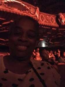 Jolanda attended Kirk Franklin: the Long Live Love Tour - Gospel on Aug 4th 2019 via VetTix