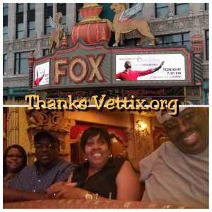 Paul attended Kirk Franklin: the Long Live Love Tour - Gospel on Aug 4th 2019 via VetTix