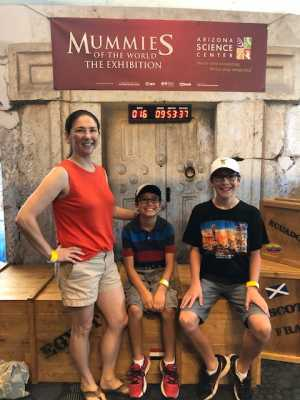 Shiela attended Arizona Science Center on Aug 17th 2019 via VetTix