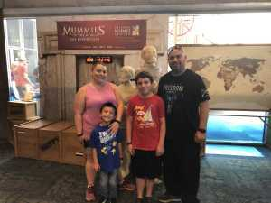 Francisco attended Arizona Science Center on Aug 17th 2019 via VetTix