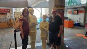 Gerald attended Arizona Science Center on Aug 17th 2019 via VetTix