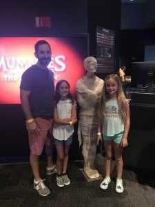 michael attended Arizona Science Center on Aug 17th 2019 via VetTix