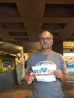Kevin attended Arizona Science Center on Aug 17th 2019 via VetTix