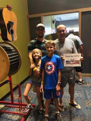 Ron attended Arizona Science Center on Aug 17th 2019 via VetTix