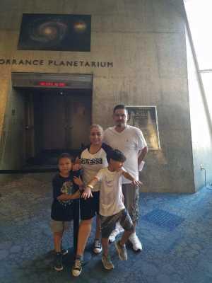 Chris attended Arizona Science Center on Aug 17th 2019 via VetTix